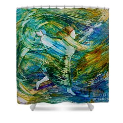 You Make Me Brave Shower Curtain