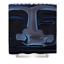 Shower Curtain featuring the digital art You N Me by Rabi Khan