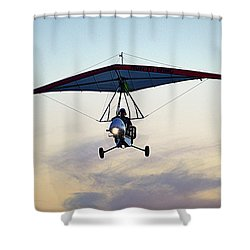 Shower Curtain featuring the photograph You Only Live Once by AJ  Schibig