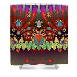 You Promised Me A Flower Garden Shower Curtain by Jim Pavelle