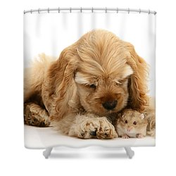 You'll Be Fine, Little Guy Shower Curtain