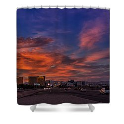 Shower Curtain featuring the photograph You'll Never Walk Alone by Michael Rogers