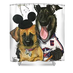 Young 3268 Shower Curtain