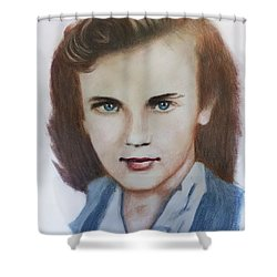 Young Elizabeth  Shower Curtain