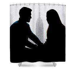 Shower Curtain featuring the photograph Young Love     by Chris Lord