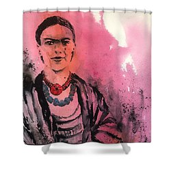 Younq Frida Shower Curtain