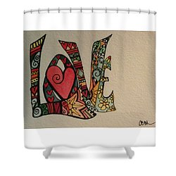 Your Big Heart Shower Curtain