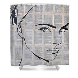 Your Eyes Shower Curtain