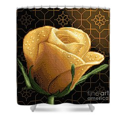 Your Rose Shower Curtain by Stoyanka Ivanova