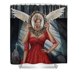 Your Soul Casts No Reflection Shower Curtain