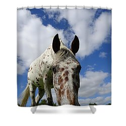 You've Been Spotted Shower Curtain