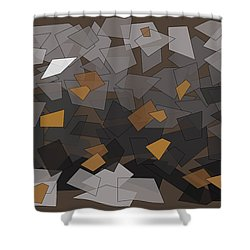 You've Got Mail Shower Curtain by Val Arie