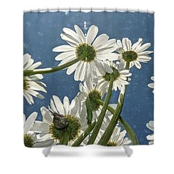 Shower Curtain featuring the photograph You've Got Snail by Donna Kennedy