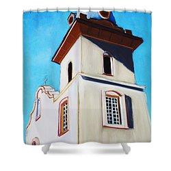 Ysleta Mission Shower Curtain
