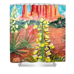 Yucca In Monument Valley Shower Curtain