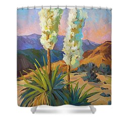 Yuccas Shower Curtain