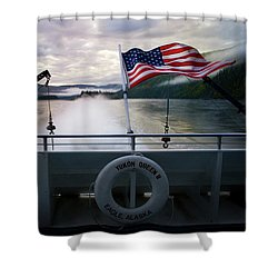 Yukon Queen Shower Curtain by Ann Lauwers