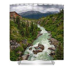 Yukon River Shower Curtain