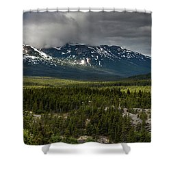 Yukon Wilderness Shower Curtain