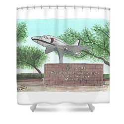 Yuma Welcome Shower Curtain