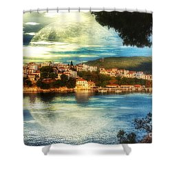 Yvonnes World Shower Curtain