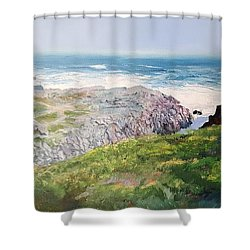Yzerfontein Oggend Shower Curtain