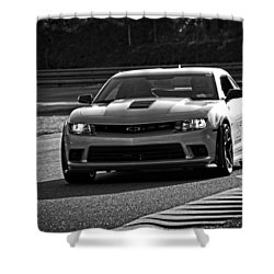 Z28 On Track Shower Curtain