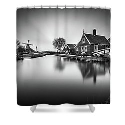 Zaanse Schans Shower Curtain