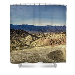 Zabriskie Point Shower Curtain