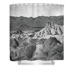 Zabriskie Point Landscape Shower Curtain