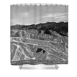 Zabriskie Pt 1 Shower Curtain