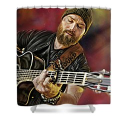 Zac Brown Shower Curtain