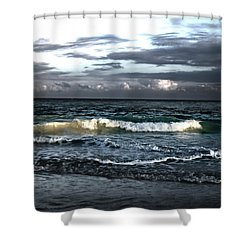 Zamas Beach #11 Shower Curtain