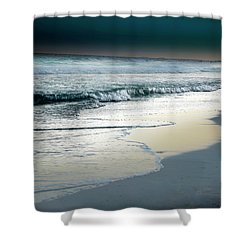 Zamas Beach #13 Shower Curtain