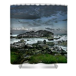 Zamas Beach #14 Shower Curtain