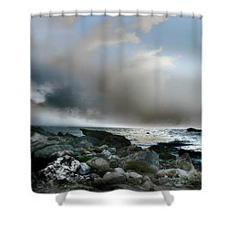 Zamas Beach #2 Shower Curtain