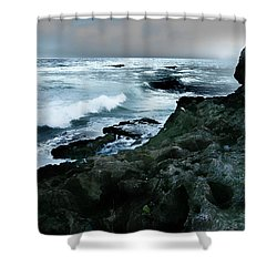Zamas Beach #5 Shower Curtain