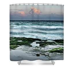 Zamas Beach #7 Shower Curtain