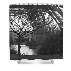 Zanthoxylum Piperitum Shower Curtain
