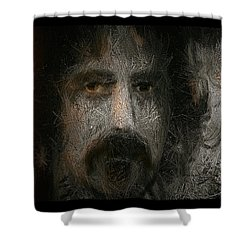 Zappa-the Deathless Horsie Shower Curtain