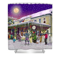 Zebs General Store In North Conway New Hampshire Shower Curtain