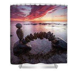 Zen Arch Shower Curtain