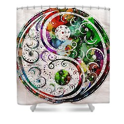 Zen Bliss Large Poster Print Shower Curtain