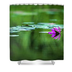 Zen Blossom Shower Curtain