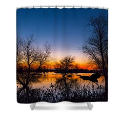 Zen Dawn Shower Curtain