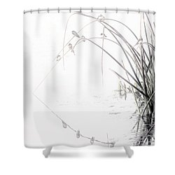 Zen Streamside Shower Curtain
