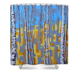 Zhivago Shower Curtain by Tara Hutton
