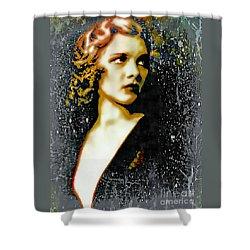 Ziegfeld Follies Girl - Drucilla Strain  Shower Curtain
