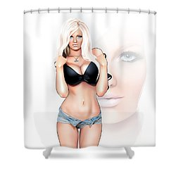Zienna Eve Shower Curtain