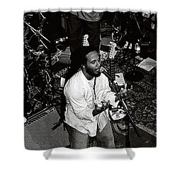 Shower Curtain featuring the photograph Ziggy Marley by John F Tsumas